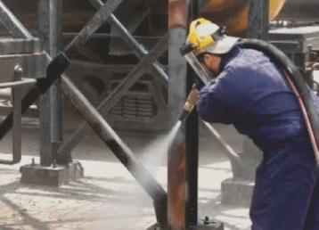 industrial-sandblasting-tulsa oklahoma