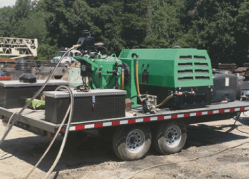 mobile-sandblasting-tulsa oklahoma-green-sandblasting-truck